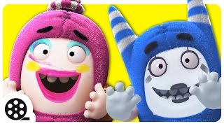 Funny Faces | Cartoon | Funny Cartoons For Children | Oddbods