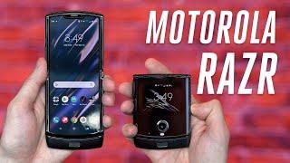 Motorola made the foldable Razr we