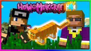 Minecraft - THE PRETTIEST CAT IN MINECRAFT!   Episode 111 of H4M (How to Minecraft Season 4)