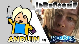 idBeCoolif - Anduin in Heroes of the Storm