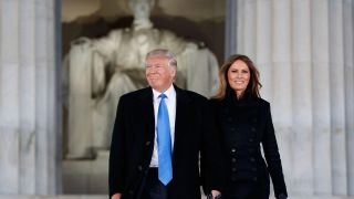 Trump arrives in DC for Inauguration Day festivities
