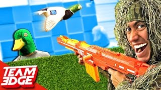 Nerf Duck Hunt Challenge!! 🦆