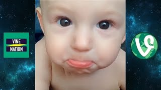 CUTE FUNNY BABY COMPILATION KIDS VINES PART 2