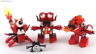 LEGO Mixels Series 4: All new Infernites reviewed!