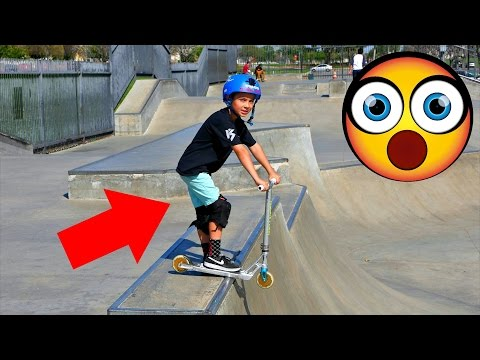 INSANE 8 YEAR OLD SCOOTER TRICKS!