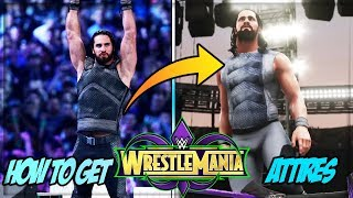 WWE 2K18: How To Get New Updated Wrestlemania 34 Attires