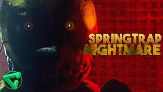 SPRINGTRAP NIGHTMARE - [SFM FNAF] Death Scene Springtrap - Evil Eyes (Vídeo-Reacción)