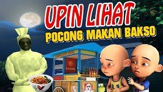 Upin ipin lihat Pocong makan Bakso GTA Lucu