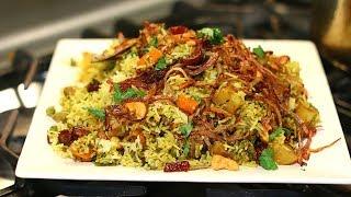 20 minutes Easy Vegetable Biryani In Pressure Cooker