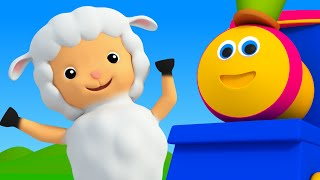 Bob The Train | Mary Had A Little Lamb | Nursery Rhymes For Kids | 3D Baby Songs kids tv