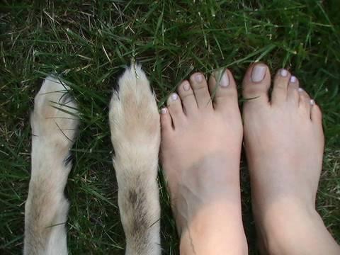 Cuidado para tener los pies suaves