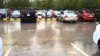 Rain in  Dammam Saudi Arabia