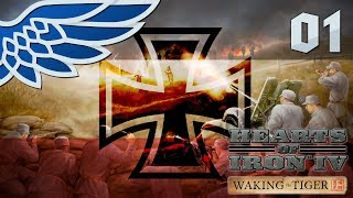 HEARTS OF IRON 4 | OVERTHROWING HITLER PART 1 - HOI4 WAKING THE TIGER Let