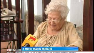 Marin Moraru, actorul care a făcut să râdă generaţii întregi, suferea de o boală în faza ter