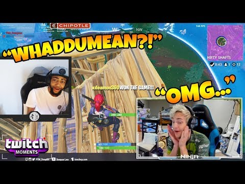Ninja Reacts to Fortnite Funny Fails and WTF Moments Twitch Moments Reaction Ep. 188