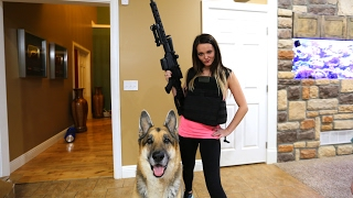 SHE'S ARMED AND DANGEROUS!!