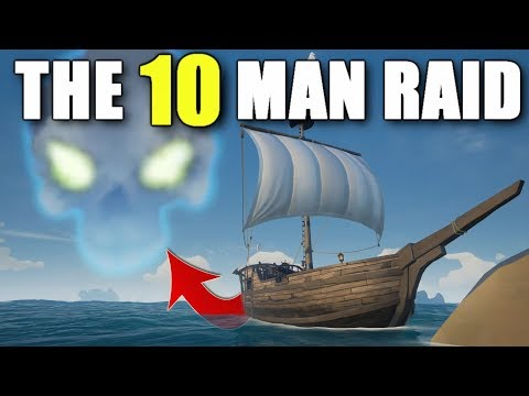 Sea of Thieves The Biggest Stronghold Raid