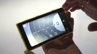 Nokia Lumia 1020 Pro Camera app video walkthrough