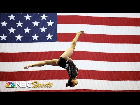 16 year old Suni Lee finishes 2nd to Simone Biles at US Nationals NBC Sports