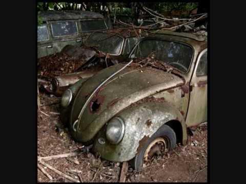 cementerio de coches abandonados en Kaufdorf