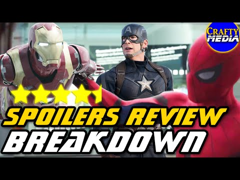 Captain America Civil War Spoilers Review! Easter Eggs & References Breakdown!
