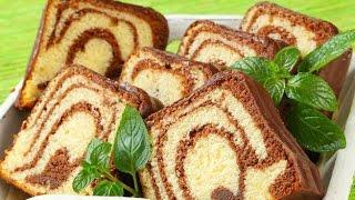 সাধারণ গ্যাসের চুলায় তৈরি করুন মার্বেল কেক//How To Marble Cake