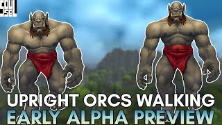FIRST LOOK! Upright Orc Walking Animation Comparisons, Zandalari Druid Skins! WoW Battle for Azeroth