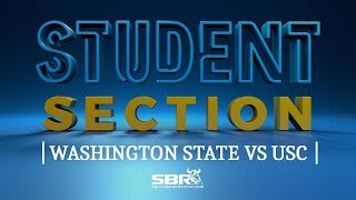 Washington State vs USC | College Football Free Picks | The Student Section Clips