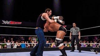 WWE 2K16 Roadblock 2016 Dean Ambrose vs Triple H | Crazy Highlights!