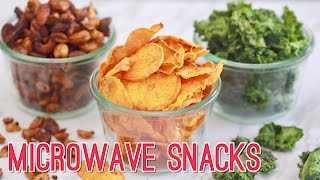 Microwave Snacks in Minutes: 3 BOLD Recipes! Gemma