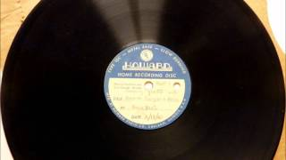 Camel ads from 1941 Xavier Cugat Radio Show found on Acetate.