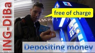 ING-DiBa ► deposit money free of charge ◄ documentation