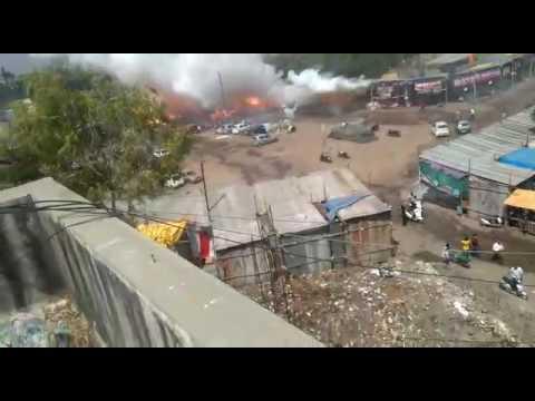 Hosur Cracker Accident   Fireworks Chain Burst   Cracker shop accident  