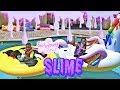 Download Video MAKING SLIME IN THE POOL  DJ vs. YAYA 3GP MP4 FLV