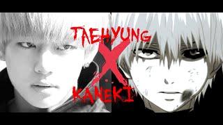 taehyung x kaneki ; save me