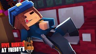 Minecraft: FIVE NIGHTS AT FREDDY'S #98 - A VIGIA FICOU DOENTE!!!