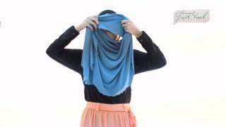 Instant Shawl Tiara 1 ( Tutorial 02 ) Lana Colourblock Shawl 1