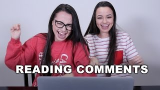 Reading Comments 2 - Merrell Twins