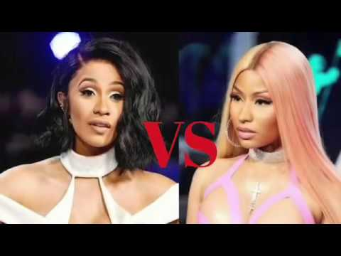 Cardi B vs Nicki Minaj Twerk War