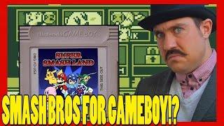 Super Smash Bros for Gameboy!? - Super Smash Land - Top Hat Gaming Man