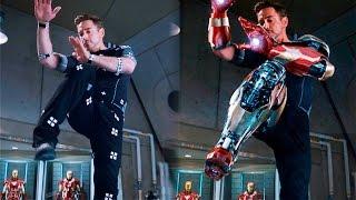 Así se vería IRON MAN 3 sin efectos especiales