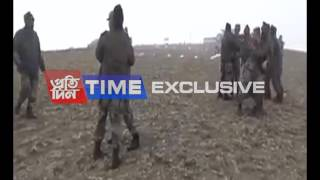 Chinese Army trying to enter India, the Indian Army pushes them right back