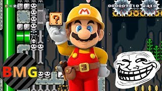 Top 10 Trolliest Levels in Super Mario Maker (That I