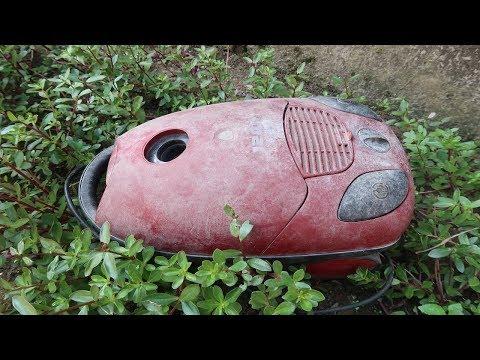 Old Vacuum Cleaner Restoration Step By Step Restoration