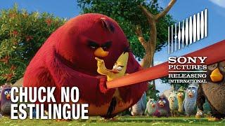 Angry Birds O Filme | Chuck no estilingue | 12 de maio nos cinemas