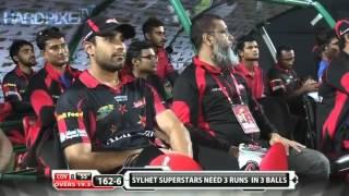 Abu Haider Rony / BPL 2015 All Wickets