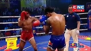 លិញ ភារម្យ Vs ផេតណងប៊ី, Linh Phearom, Cambodia Vs Phetnongby, Thai, Khmer Boxing 15 Dec 2018
