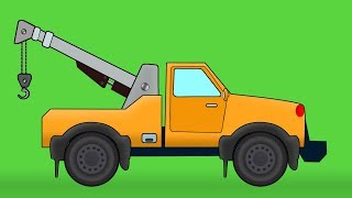 Tow truck  | Formation and Uses | Video For Kids