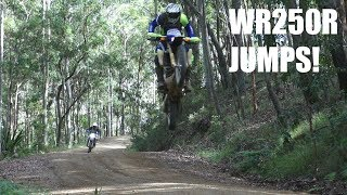 HOW HARD CAN YOU JUMP A WR250R! - WR250R RALLY PART 5!