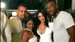 Westindies Cricket Players with their hot Wives | Big Bash Cricket League BBL | India v South Africa